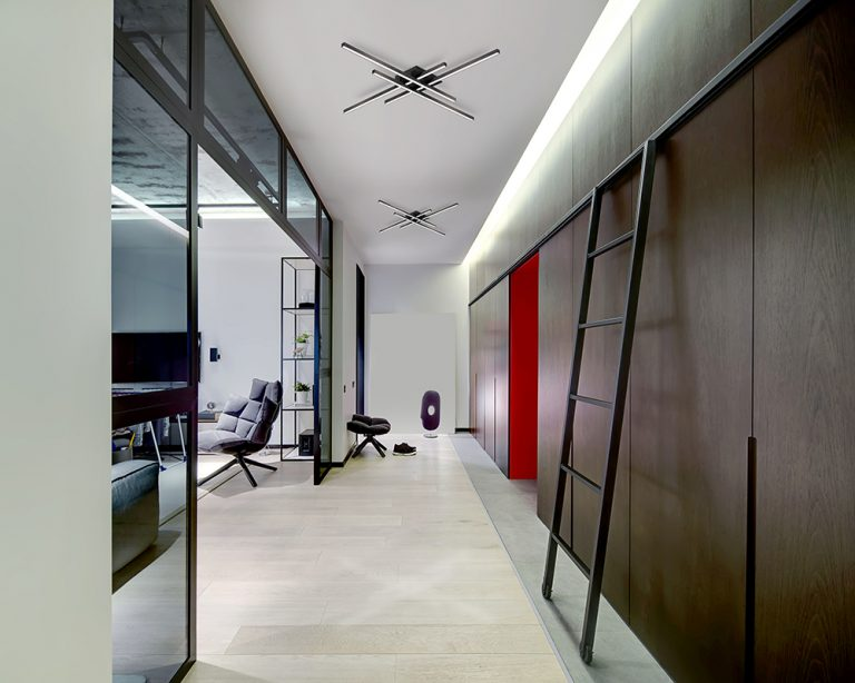 modern office and ceiling lighting
