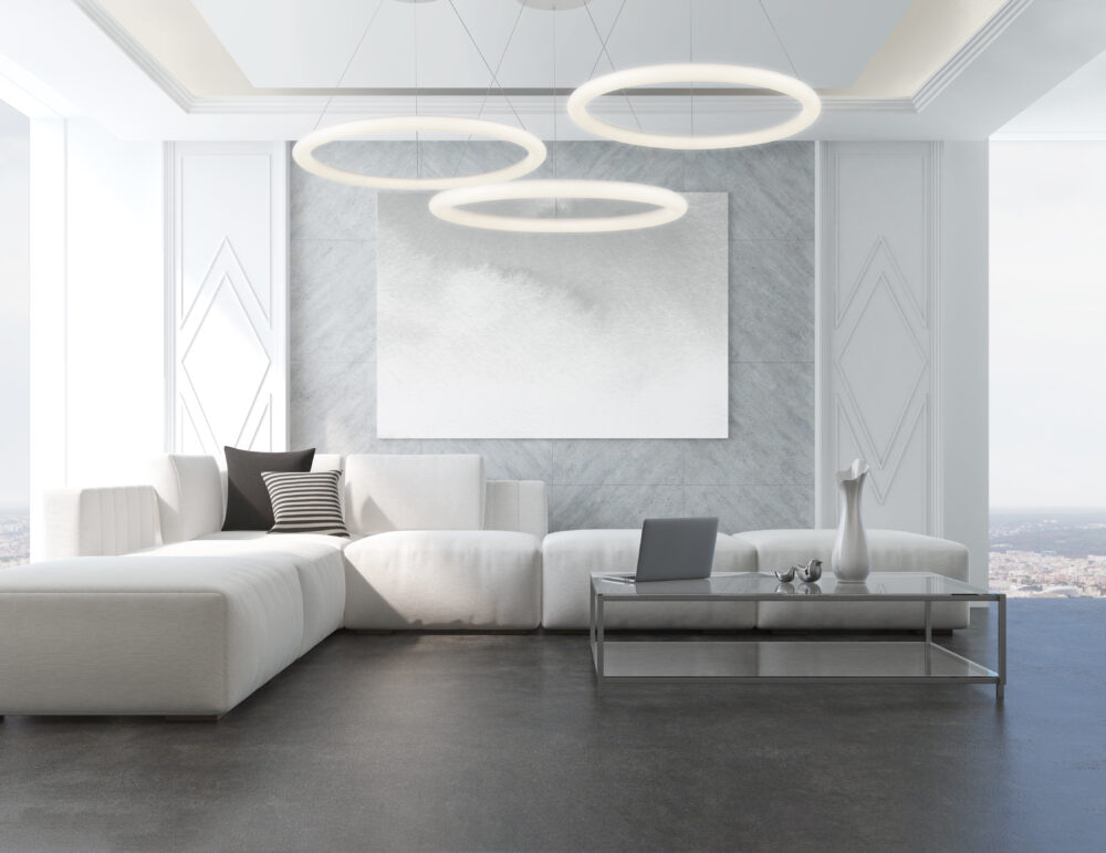 Modern Pendant Living Room